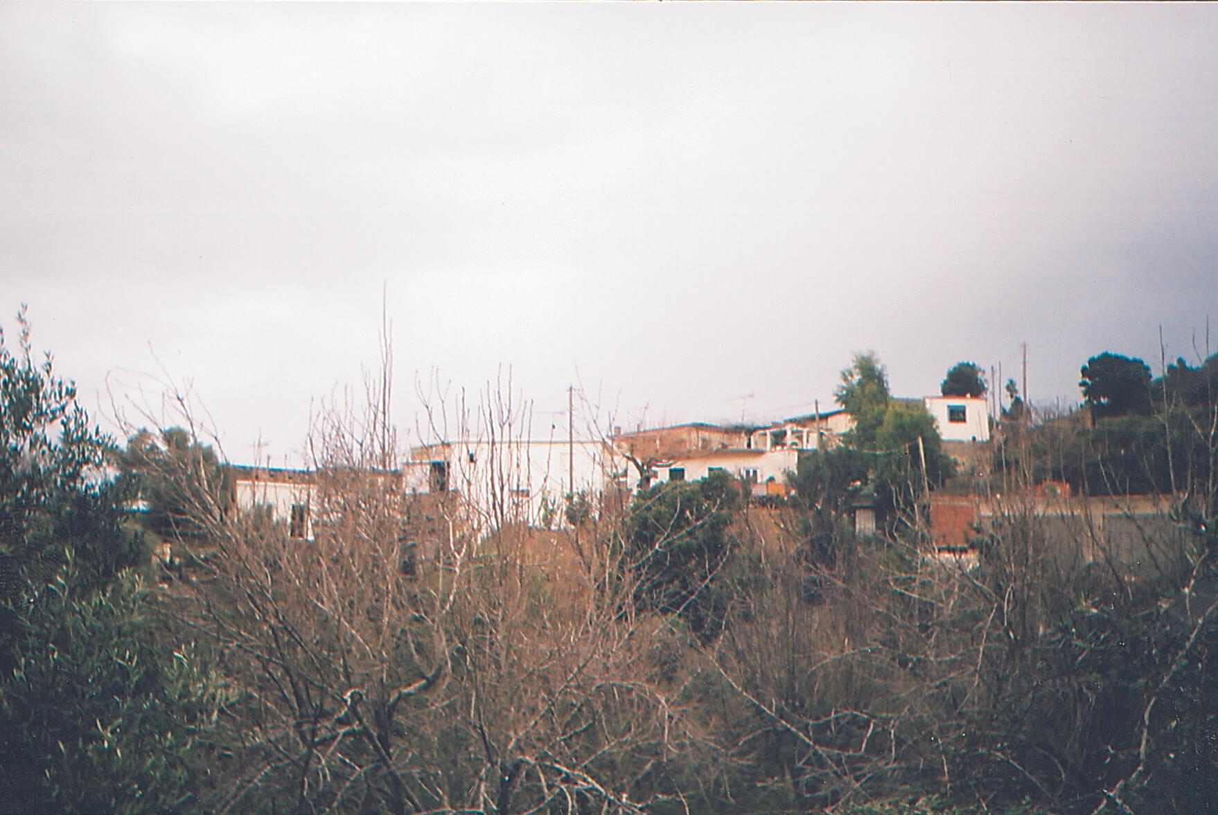 Σημερινή ἄποψη τοῦ χωριοῦ Σηρικάρι.