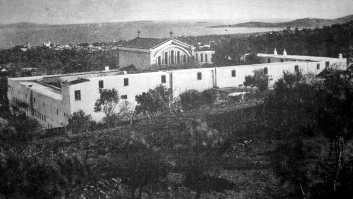 Ἱερά Μονή τῆς Παναγίας Βοηθείας στήν Χίο (ἔτος ἱδρύσεως 1930).